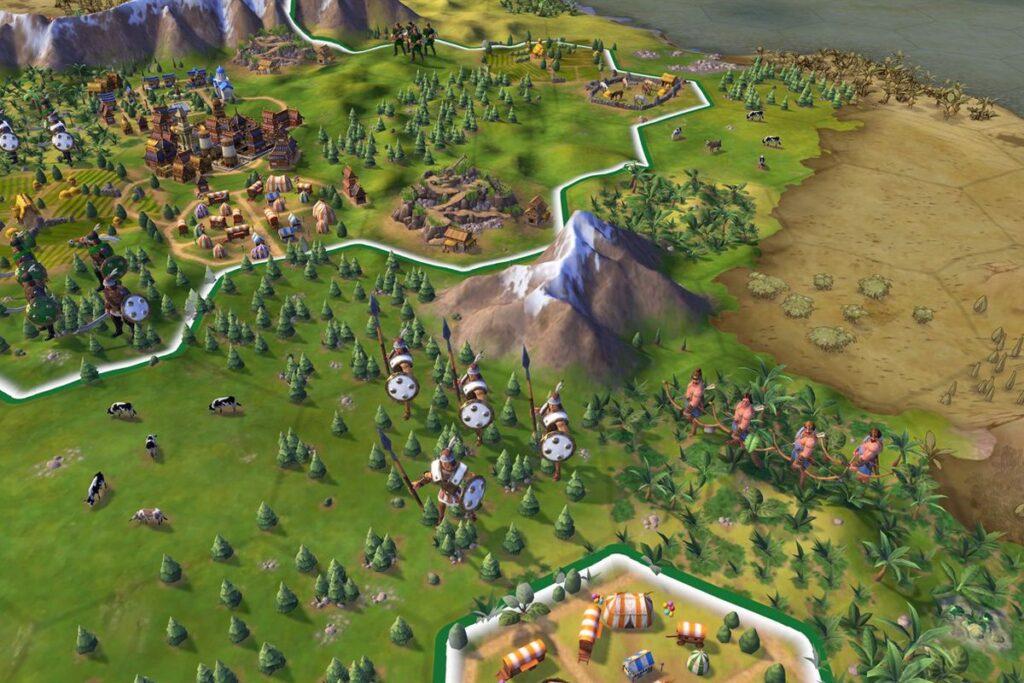 Civilization 6 nova besplatna igra na Epic Games prodavnici